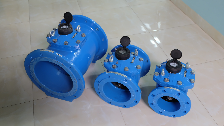 Đồng hồ nước công nghiệp PoWoGaz-Metcon