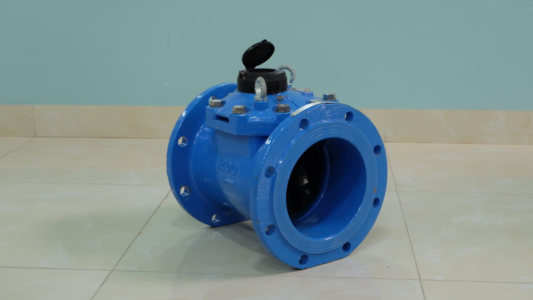 Đồng hồ đo nước sạch lưu lượng lớn PoWoGaz-Metcon